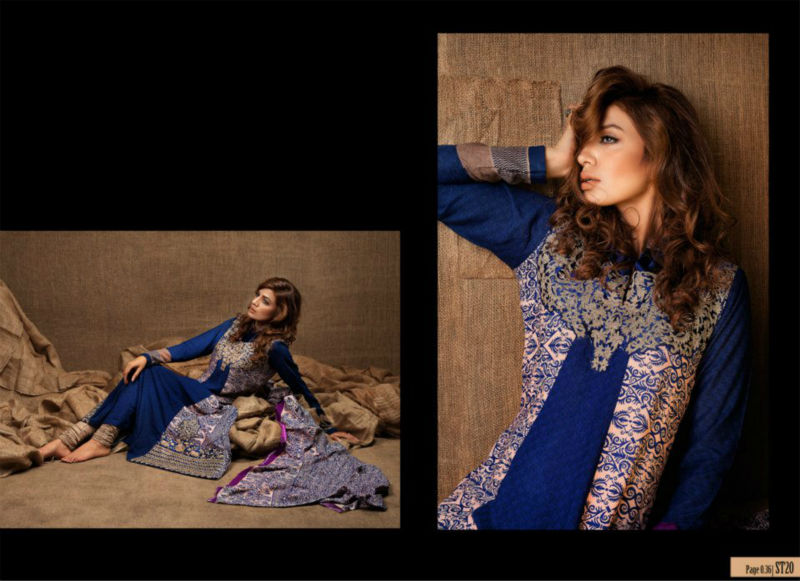 Rubashka Fashion Latest Embroidered Eid Collection 2012