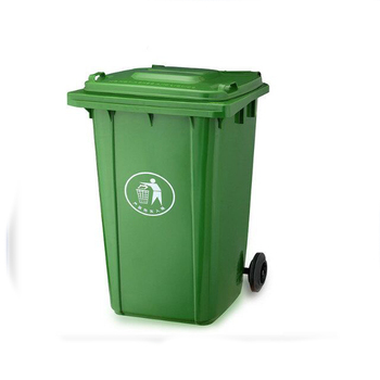 Plastic Mini Trash Can Mobile Garbage Bin Recycling Bins With Wheels