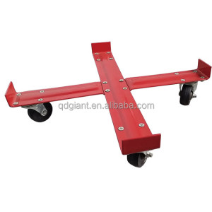Heavy duty industrial tools transport metal fiber drum dolly