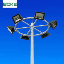 Factory supply cheap custom football field used parking lot cast iron lamp post street light pole indoor post lamp