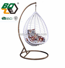 Hot selling Outdoor hanging egg chair leisure Swing Chair/Hammocks Mode BZ-W051-1