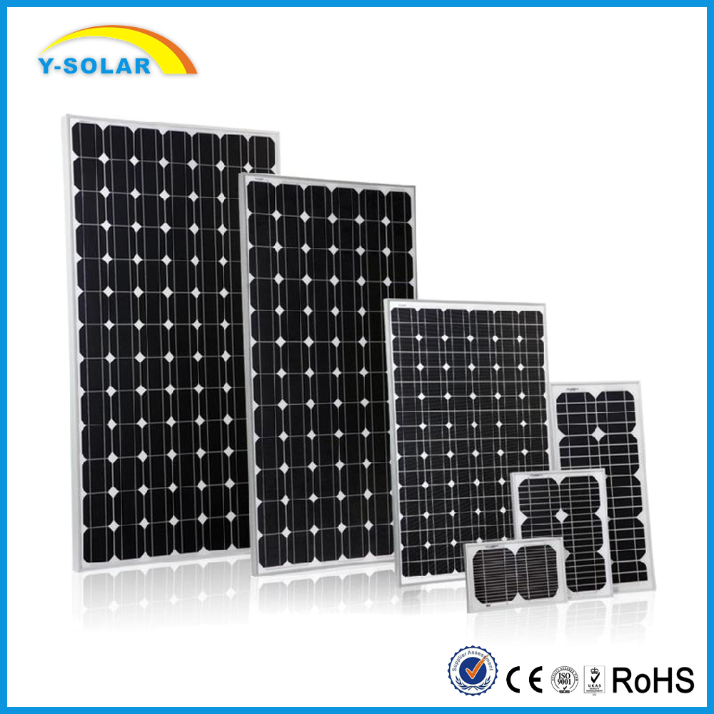Y-Solar 120W Monocrystalline Solar Panel for Remote Telecommunication Power Supply