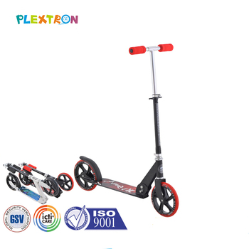 China manufacturer cheap price adjustable height cow toy baby foot kick scooter