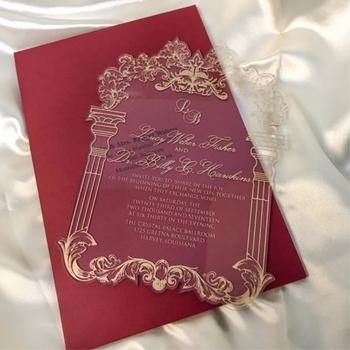 Royal High Quality Fancy Customized Acrylic Wedding Invitations Buy Acrylic Wedding Invitations Royal Customized Acrylic Wedding Invitations Fancy