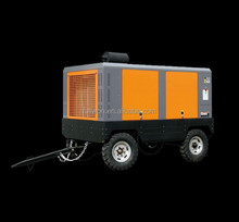 PORTABLE DIESEL ENGINE DRIVEN ROTARY AIR COMPRESSOR