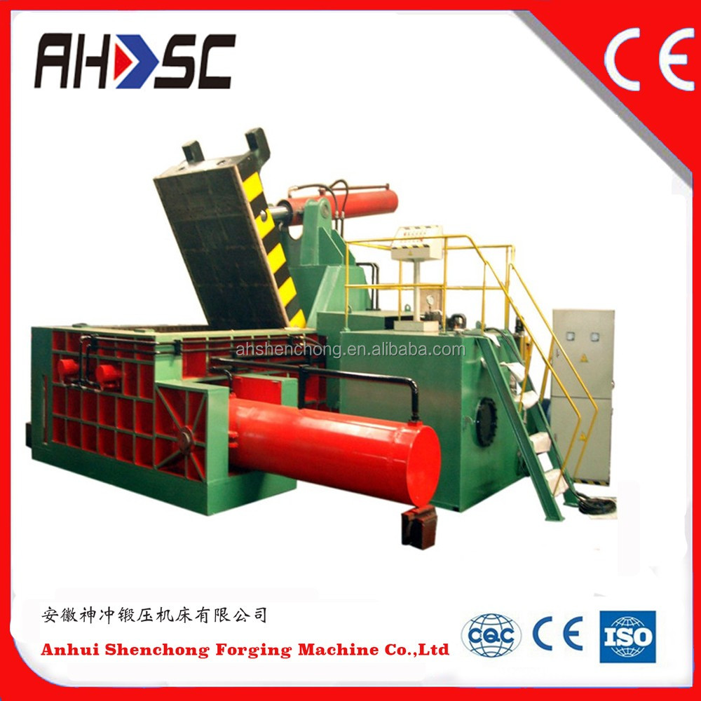 Y81Q-1350 Factory price push out metal bales press scrap aluminum can recycling machine (CE ISO)