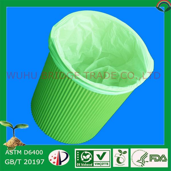 China Supplier Compostable Kitchenaid Trash Compactor Bags