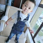Wholesale China Child New Style Own Brand Braces Jeans In High Quality