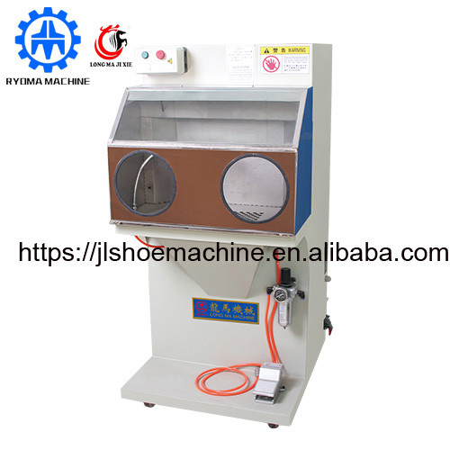 LM-254 Rough machine with dust collector Grinding machine shoe making machine