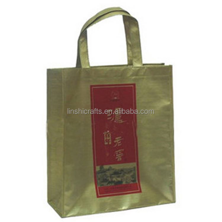 Hot selling manufacture supply low price non woven tote wine bag