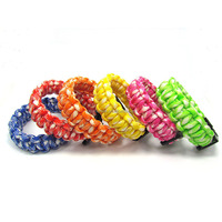 survival bracelets/550 paracord bracelets and bangles