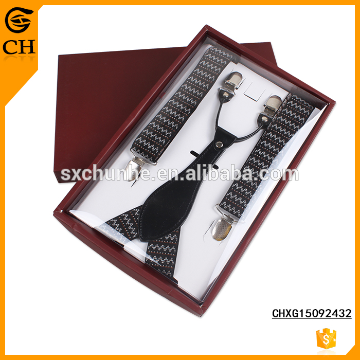 2.5cm width Hot sell fashion suspenders for men