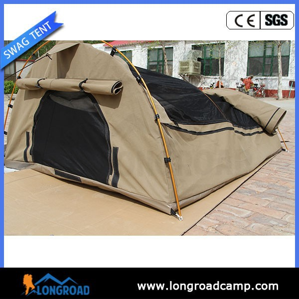 water proof canvas camping sleeping tent swag