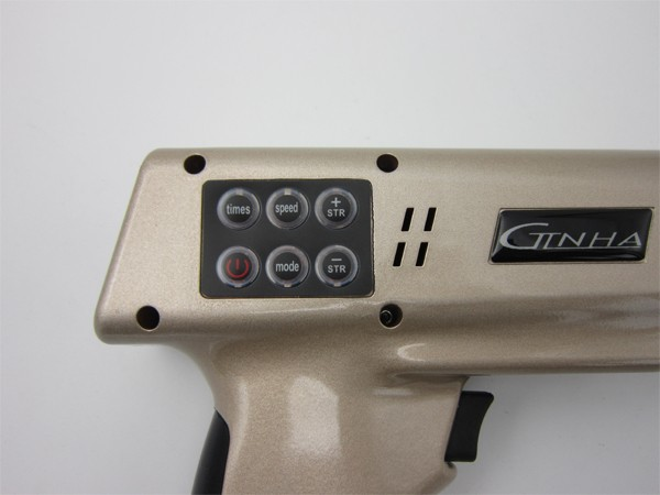 Wholesale LCD screen display 9 massage heads chiropracter impulse gun BD-M009