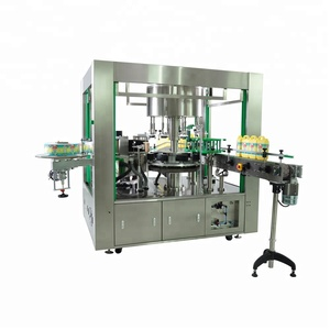 OPP hot melt glue label automatic flat surface bottle labeling machine applicator for water bottle factory price 9000-24000 BPH