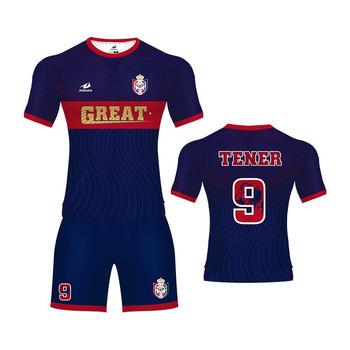 26d0065b2a77b Atacado t shirt impressão eua camisa de futebol fazer uma camisa de futebol