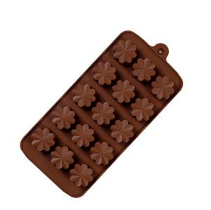 Soap 3D Silicone 15 Holes Flowers Shape Cake Mold