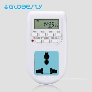 Small Digital Home Appliance Outlet Timer Electronic Countdown Timer with UK EU Socket