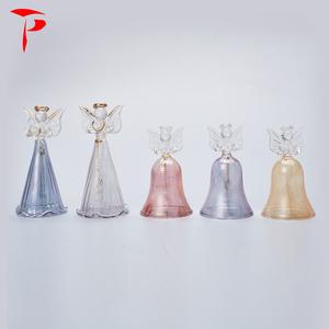 Taper Wholesale Glass Christmas Angel Figurine Ornaments Angel Glass  Terrarium