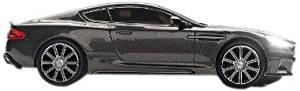 Aston Martin DBS Car Wireless Optical Mouse- Quantum Silver