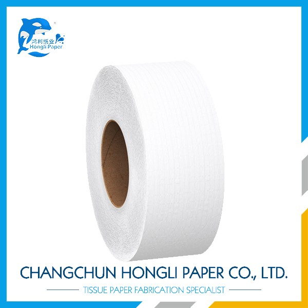 Cheap white label jumbo roll papel higiênico facial