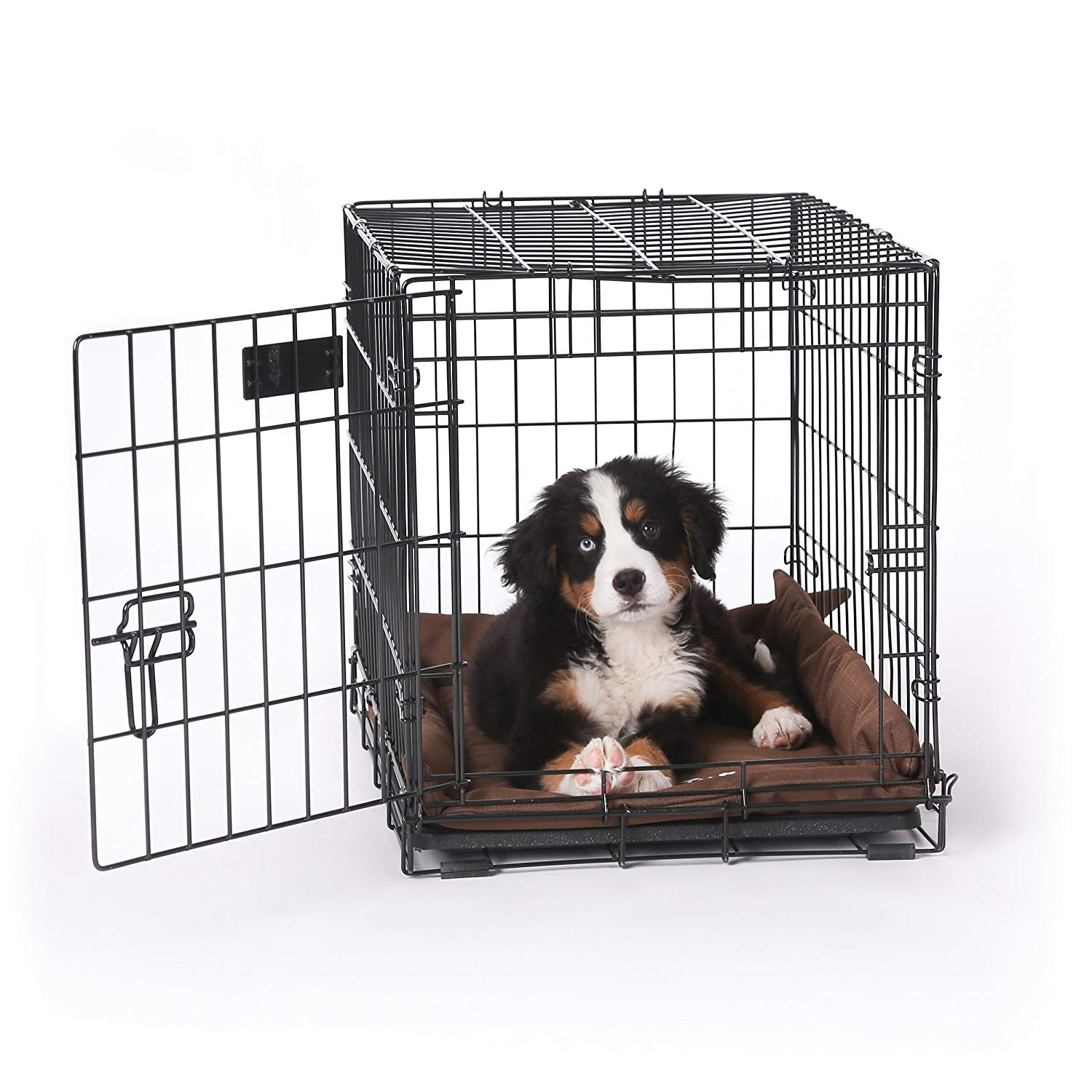"K&H Pet Products K-9 Ruff n' Tuff Crate Pad Small Chocolate (20"" x 25"") - 1260 Denier Rip-Stop Polyester for Pets That Need Extra Tough Fabric"