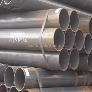 thicker wall erw steel pipe /small cast iron tube /black round steel tube