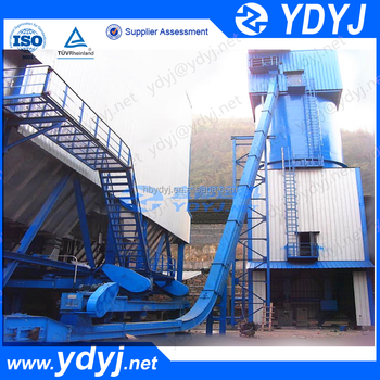 Factory price Inclined chain scraper conveyor for lifting bulk material