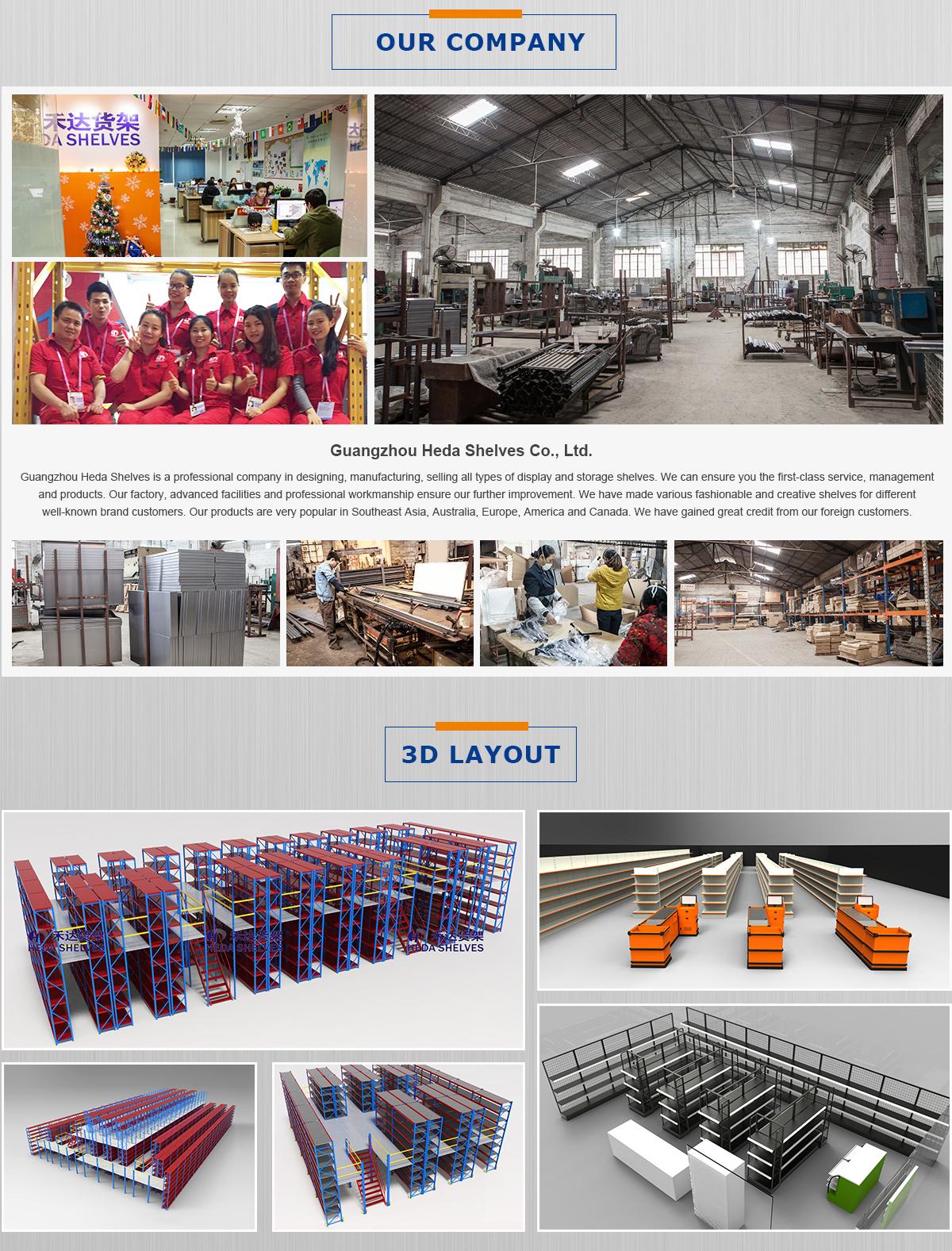 Guangzhou Heda Shelves Co Ltd Shelf Rack # Muebles Sapateras