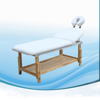 Beauty Parlor Equipment Wooden Massage Table For Sale