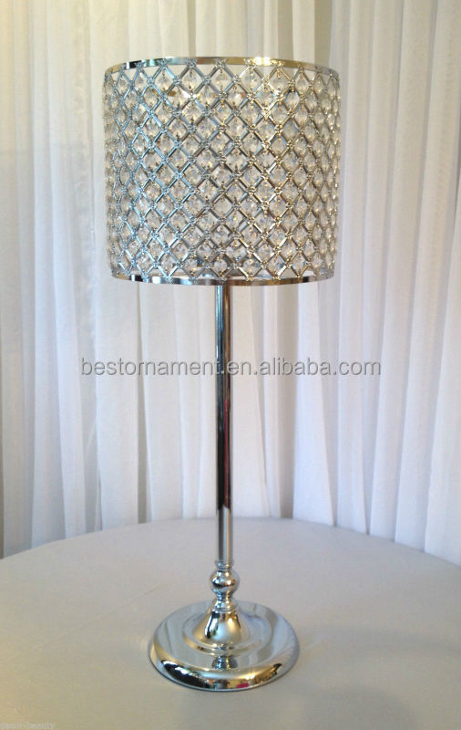 Wedding Centerpieces Tall Acrylic Crystal Lamp Shade   Buy Crystal  Centerpieces For Wedding Table,Crystal