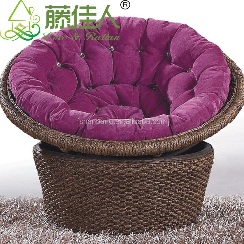 SGC9027-13 chair.jpg & Water Hyacinth Natural Rattan Living Room Large Leisure Lounge ...