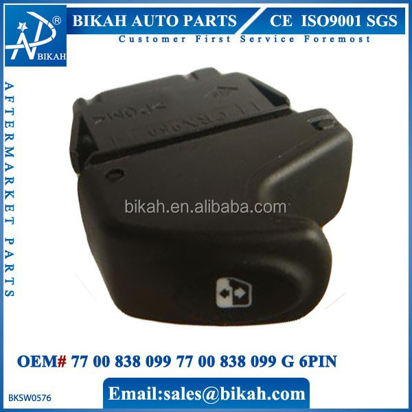 Oem# 77 00 838 099 77 00 838 099 G 6pin For Renault Power Window ...