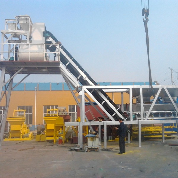 Mini Concrete Batch Plant Cube : Mini mobile cement concrete batching plant factory price