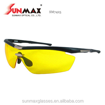 f680ec6354 Custom Logo Newest Stylish carbon oakey Yellow Lens Lightweight Sporting  Bike Polarized Sunglasses