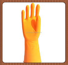 manufacturer for flocklined rubber household latex gloves