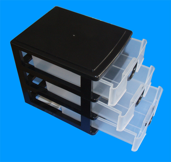 Wholesale Cheap Mini 3 Layer Drawer Plastic Storage Box