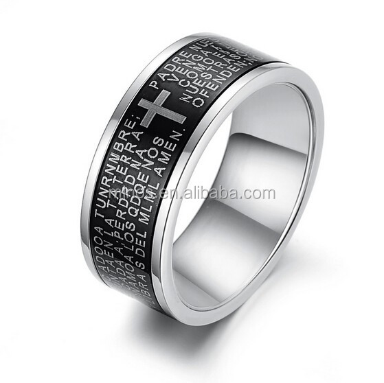 Peruvian rings stainless-steel-rings professional jewelry rings