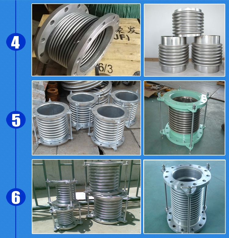 Factory sale flange stainless steel metal bellows pipe