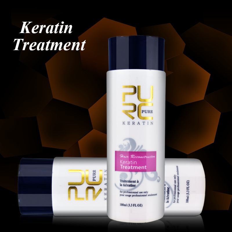 Accept OEM different size keratin coppola smoothing hair treatment