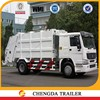 4x2 Chinese Sinotruk 5T small garbage cleaning truck , Mini Compression garbage truck