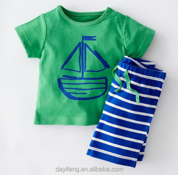 a4362900 cute baby boy t-shirt suits 0-3year, little children's clothing summer short
