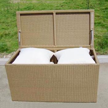 Customized Outdoor Home Storage Box Garden Rattan Wicker Cushion Storage Box Buy Outdoor Storage Box Rattan Garden Storage Box Home Storage Box