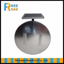 Round led safety Solar traffic road signs