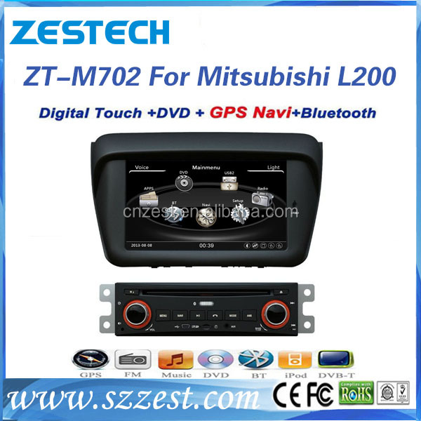 car radio for mitsubishi l200 car radio dvd gps navigation built in bluetooth phonebook swc rds