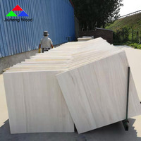 High quality cheap price paulownia solid wood panels