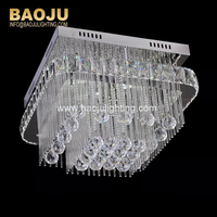Modern Led Crystal Residential Lighting Chandelier Ceiling lighting
