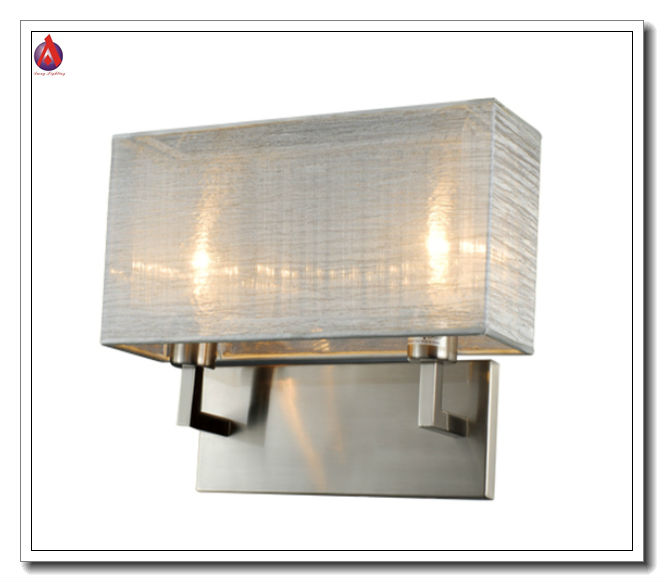 modern double wall lamp with glass bars MB917-2