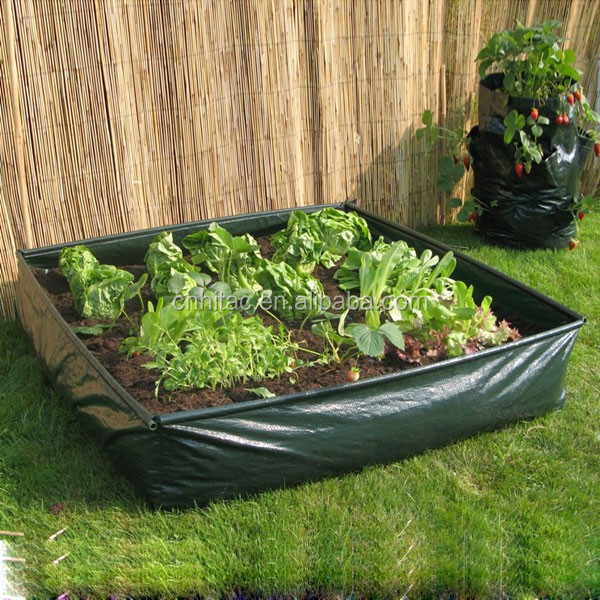 Very best Plastic Raised Garden Bag,Raised Bed Planter Garden Grow Bag  HA99