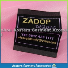 customized design clothing label personalized cloth labels,private label clothing